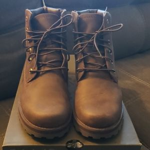 Courma Kid Timberland 6 inch zip boot